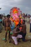 Ganeshafestival India Royalty-vrije Stock Fotografie