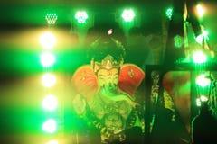 Ganeshagod Chaturthi een Indisch Festival stock afbeeldingen