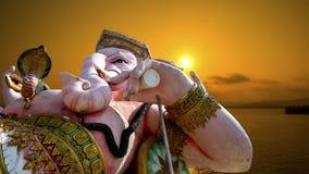 Ganeshen Arkivfoto
