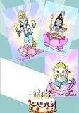 ganeshindia serie Royaltyfri Fotografi
