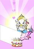 ganeshindia serie Royaltyfria Bilder