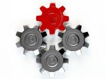 GANG 3D Lizenzfreies Stockfoto