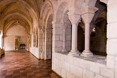 Gang 6 van het klooster stock afbeelding