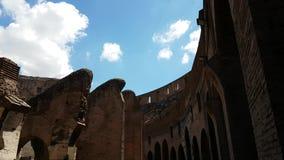 Gang in Colosseum stock videobeelden