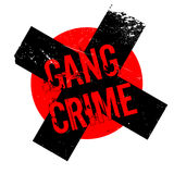 Gang Crime rubber stamp Stock Photo
