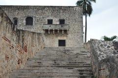 Gang in historisch Centrum van Santo Domingo Royalty-vrije Stock Afbeelding