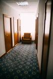 Gang in hotel royalty-vrije stock fotografie