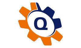 Gang-Lösungs-Initiale Q Stockfoto