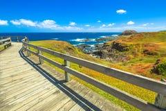 Gang Phillip Island stock afbeeldingen