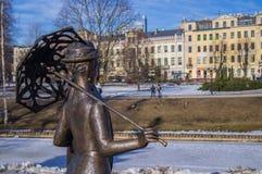 Het beeldhouwwerk van de stad Royalty-vrije Stock Foto's