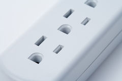 Gang Socket Stock Photo