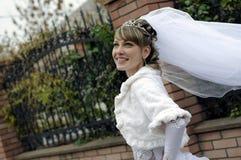 Gang van de bruid stock foto