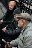 Gang van Vrede, Moskou, Rusland Royalty-vrije Stock Afbeelding