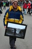 Gang van Vrede, Moskou, Rusland stock fotografie