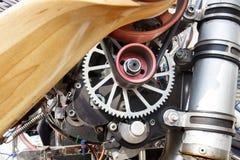 Gang von paramotor Maschine Lizenzfreies Stockfoto
