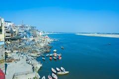 Ganga河 免版税库存照片