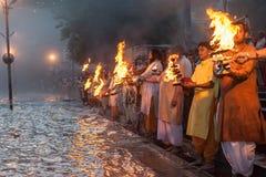 Ganga Arati Royalty Free Stock Image