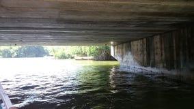 Ganga di Madu & x28; river& x29 di madu; - vista dalla barca Fotografia Stock Libera da Diritti