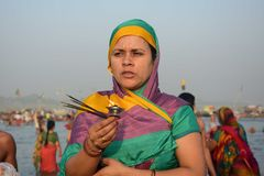 Ganga dussehra festival celebration in Allahabad Stock Photos