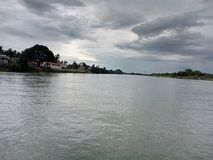 Ganga flod Royaltyfri Fotografi