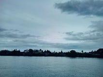 Ganga flod Fotografering för Bildbyråer