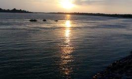 Ganga flod Arkivbild