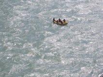 Ganga Fluss lizenzfreie stockbilder