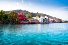 Ganga il fiume divino dell'India Fotografia Stock Libera da Diritti
