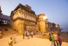 Ganga Mahal ghat Stock Photo