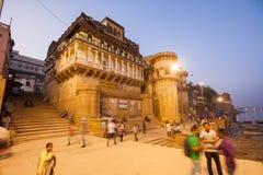 Ganga Mahal ghat Stock Image