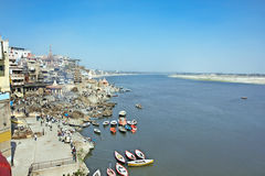 Ganga River - holy place for all Hindu people Stock Photography