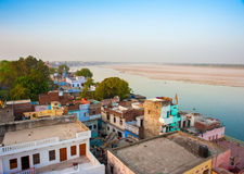 Ganga River - holy place for all Hindu people Stock Image