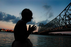 Ganga River in Kolkata Stock Photography