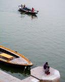 Ganga river Stock Photos
