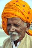 Ganga sagar island west bengal india on january 15th 2013: Elderly male pilgrim at the Ganga Sagar Mela, Sagar Island, West Bengal
