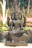 Ganga Statue with fountain Royalty Free Stock Photo