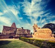 Gangai昆田乔拉普拉姆寺庙。泰米尔纳德邦,印度 图库摄影