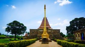 Gangaikonda cholapuram tempel India stock foto