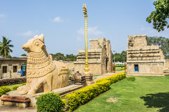 Gangaikondacholapuram Lord Shiva Temple Arkivfoton