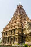 Gangaikondacholapuram Lord Shiva Temple Tower Arkivfoton