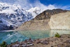 Gangapurna lake, Himalaya Stock Photo