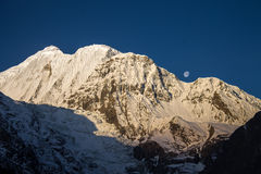 Gangapurna Stock Photography