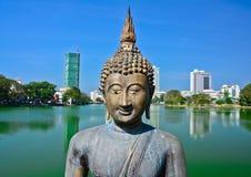 Gangarama-Tempel Lizenzfreie Stockbilder