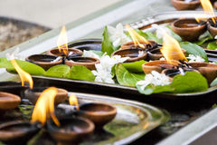 Free Gangaramaya Temple Prayer Offerings Stock Photo - 11130340