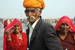 Gangasagar Festival In India. Stock Photos
