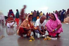 Gangasagar Festival In India. Royalty Free Stock Image