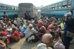 Gangasagar Festival in Indien. Stockbilder