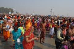 Gangasagar Festival Stock Photos