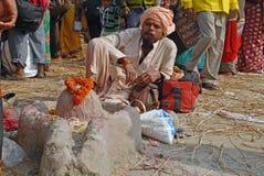 Gangasagar festiwal Obrazy Stock