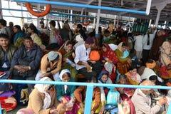 Gangasagar-Reise Stockbild